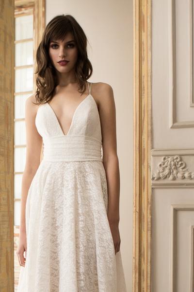 Vestido novia boho