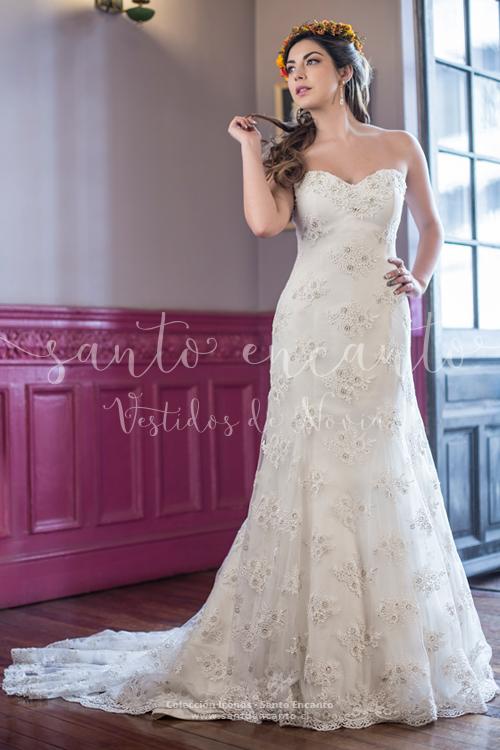 Vestido de novia trompeta