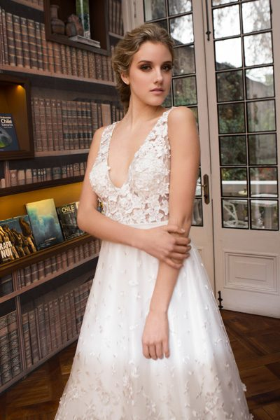 Vestido de novia clásico