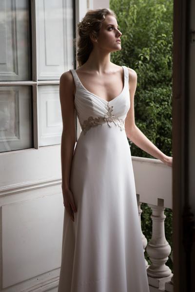Vestido novia Griego