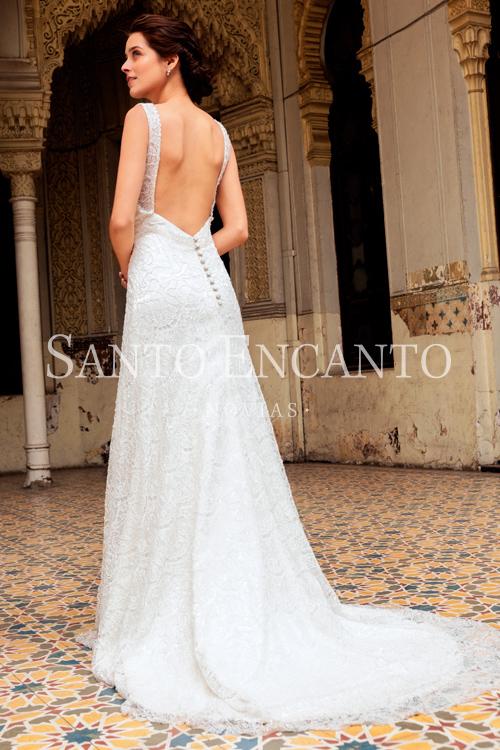 Vestido de novia Sirena