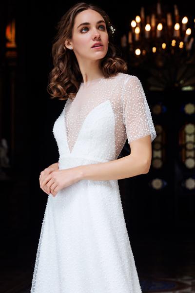 Vestido novia glitter